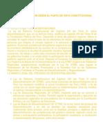 DESCENTRALIZACION DESDE EL PUNTO DE VISTA CONSTITUCIONAL