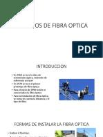 TENDIDOS DE FIBRA OPTICA(expo)