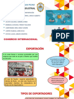EXPORTACIÓN E IMPORTACIÓN - SEGUNDA UNIDAD
