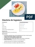 Omeleta de legumes