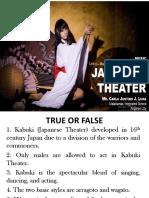 LESSON 1. JAPAN-KABUKI PLAY