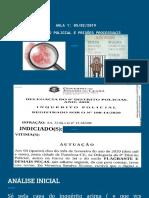AULA 1 INQUERITO POLICIAL E PRISOES PROCESSUAIS PARTE 1