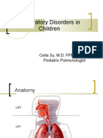 Respiratory Disorders in Children