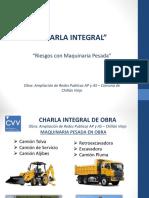 Charla Integral - Riesgos con Maquinaria Pesada.ppt