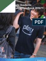 Postgraduate Academic Representation Handbook 2010-11smallProof