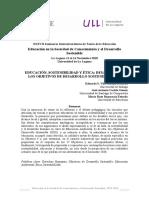 Educación, Sostenibilidad y Ética Desafíos ante los Objetivos del Desarrollo Sostenible (ODS)