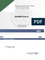 Matemáticas IV