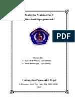 Distribusi Hipergeometrik(1)
