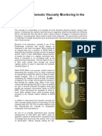 Improving Automatic Viscosity Monitoring in the Lab