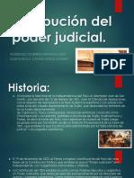 Distribución del poder judicial tgp
