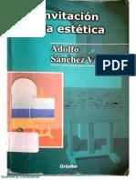 Antología 04 -  Sánchez Vázquez - Invitación a la estética.pdf