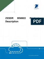 ZXSDR BS8922 Product Description