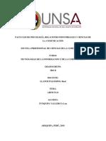 Competencia entre China y Estados Unidos - UNSA