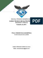 Desenho Técnico I - Trabalho AV1.doc