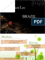 Investment Law of Brazil