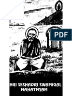 Shri Seshardi Swamigal Mahatyam - Indhu - 1994 - 8.5x11