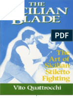 the sicilian blade - the art of sicilian stiletto fighting -