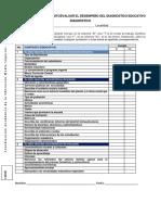 Lista de Cotejo Diagnostico - planeación