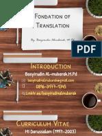 fondation of translation.pptx
