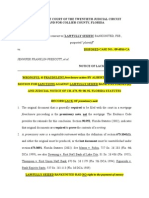 BankUnited Fraud - Albertelli Law s Wrongful Foreclosure Action