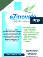 eZinovate product brochure2008