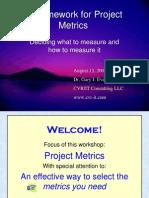 Project Metrics CVR IT