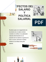 EFECTOS DEL SALARIO
