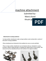 sewing machine attachment- mansi, khushi