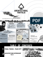 Architectural Portfolio - Vishal Infant Raj.T