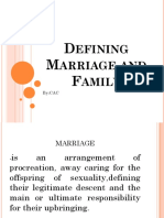 ucsp Defining Marriage and Family
