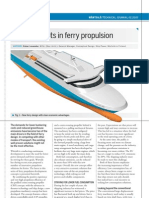 Ferry Propulsion New Concept