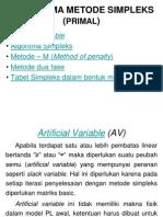 ALGORITMA SIMPLEKS