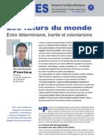 Les futurs du monde - Entre déterminisme, inertie et volontarisme - Note d'analyse géopolitique n°7 décembre 2010