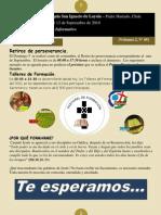 Boletín N° 69, del 6 al 12 de Septiembre de 2010