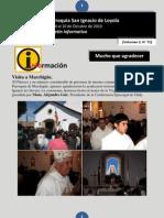 Boletín N° 71, del 4 al 10 de Octubre de 2010