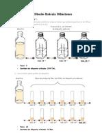 Diseño Batería Diluciones