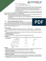 Hsslive-XII-Physics-1. ELECTROSTATICS
