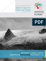 Enhancing Adaptive Capacity in Bhutan and Nepal