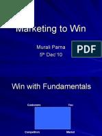 Marketing to Win (ALEAP) Murali