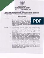 SK Bupati - Penunjukan Pejabat Pengguna Anggaran Dll