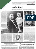 La vorágine del juez-Un personaje de Vargas Llosa