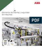 202002 Abb Catálogo Tarifa 2020 Vol6 Elementos de Interfaz y Seguridad de Máquinas