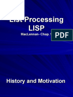 List Processing LISP