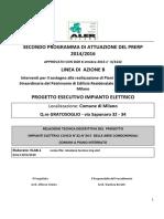 ELAB1 relazione tecnica imp elet