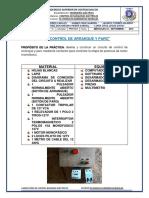 CONTROL DE MAQUINAS ELECTRICAS -DE-ARRANQUE Y PARO DE UN MOTOR MONOFASICO-