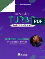 REVISÃO TURBO DIREITOS HUMANOS