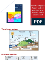 Climate Science Overview CT - Luleka Dlamini UCT