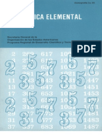 aritmética elemental