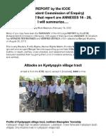 ICOE-Kyetyopyyin Attacks, Summarized