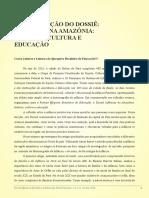 Infâncias Na Amazônia